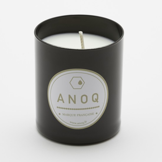 Ambre & Douceur | Scented Candle | 180grs | Black lacquered glass