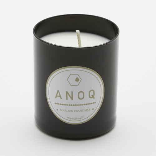 Mandarin des Thés | Scented Candle | 180grs | Black lacquered glass