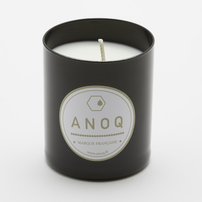 Nature du Lin | Scented Candle | 180grs | Black lacquered glass