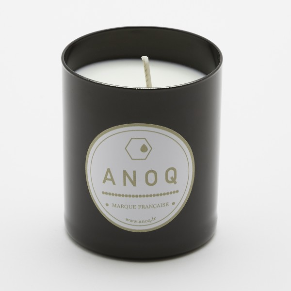 Caresse Poudrée | Scented Candle | 180grs | Black lacquered glass