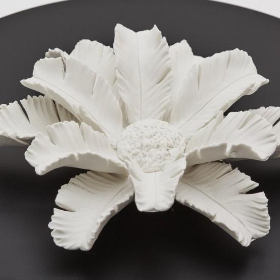 Pilamo | Wooden and ceramic box Black and White