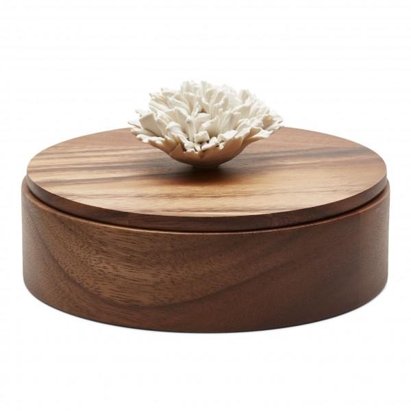 Boîte en bois et céramique Thuan