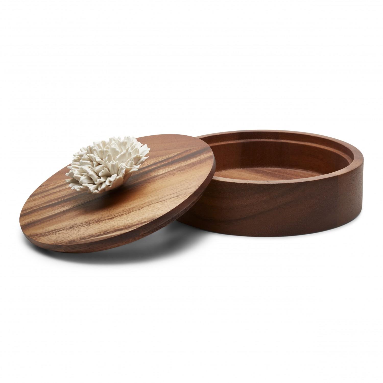 rangement bijoux et accessoires coffret parfumer en c ramique et bois. Black Bedroom Furniture Sets. Home Design Ideas