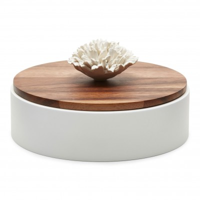Wooden and ceramic box Nami