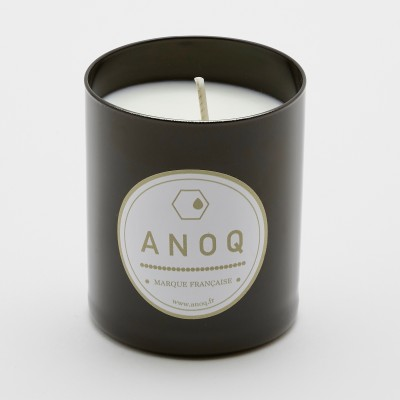 Black Amber | Scented Candle | 180grs | Black lacquered glass