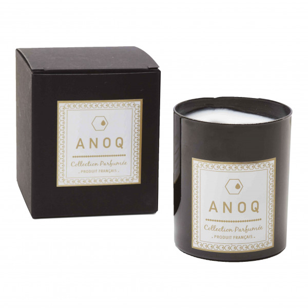 Bougie Parfumée Accord Audacieux-180grs-Verre laqué noir