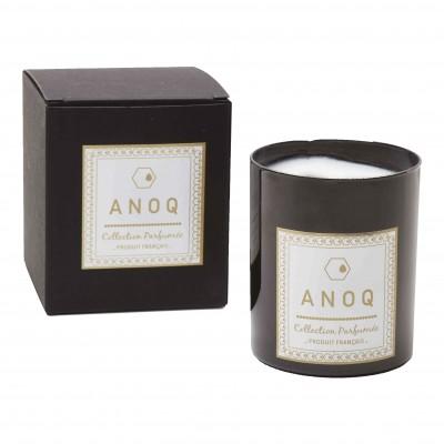Bougie Parfumée Mandarin des thés-180grs-Verre laqué noir