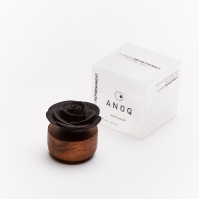 Gardenia du Laos | Perfume diffuser wood and black ceramic