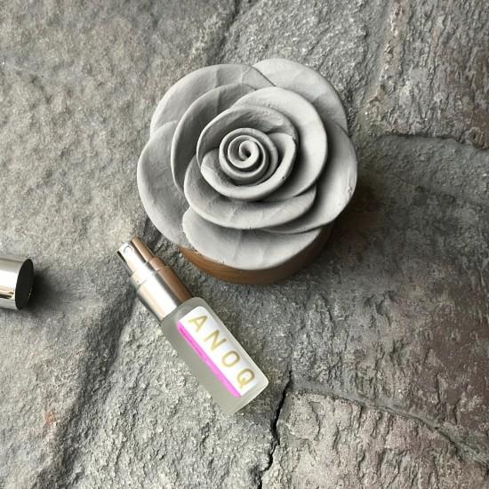 Gardenia du Laos | Perfume diffuser wood and grey ceramic